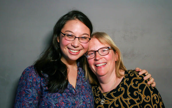 Linda Kwong's (right) suicide attempt in 2012 took a toll on her relationship with her daughter, Emily. Linda and Emily talk for the first time about what happened that day in a conversation at StoryCorps in 2013.