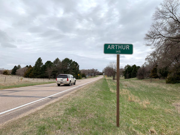 For people living in the small town of Arthur, Neb., getting to a doctor can be a challenge. The nearest hospital is located about 40 miles away in Ogallala.