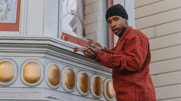 Actor Jimmie Fails plays a character named after him and based on his life in <em>The Last Black Man in San Francisco</em>, out now.