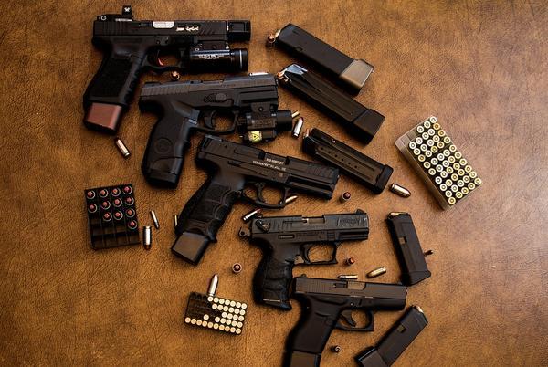 Photo by WorldSpectrum/Pixabay https://pixabay.com/photos/weapons-guns-ammunition-pistol-3417508/