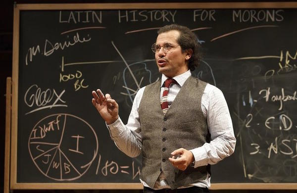 Leguizamo dresses as a professor in 'Latin History for Morons.'