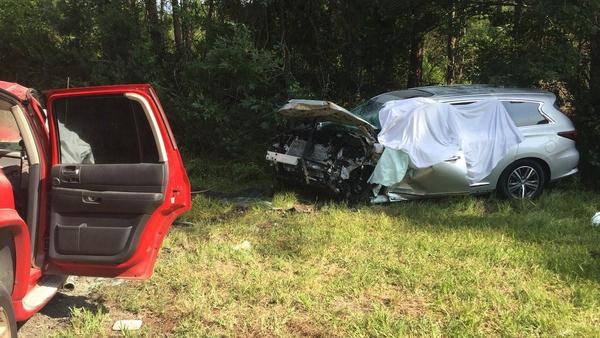 Four people were killed in this head-on 2018 crash in St. Johns County.