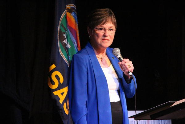 The first few weeks in office for a Kansas governor are often consumed with negotiating a state budget. 'It is a lot of stuff,' said Gov. Laura Kelly. 'Actually in my nerd-like way, it was kind of fun.'
