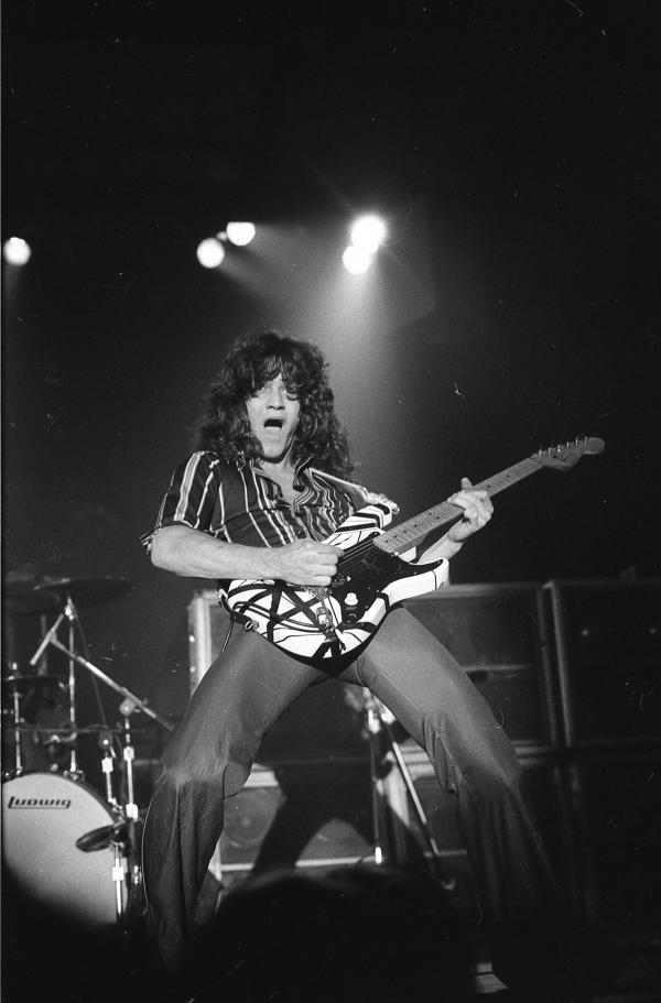 Van Halen performs at Springfield's Nelson Center on March 4. 1978. This was the band's second performance on their very first tour, having played Chicago the night before. They were reportedly paid $500, opening for Montrose and Journey.