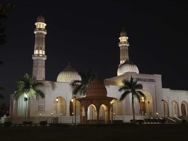 The Sultan Qaboos Mosque in Salalah, Oman. The country has emerged as a quiet facilitator of dialogue, including between Iran and the U.S.