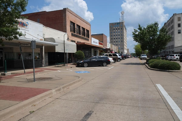 Downtown Longview, Texas.