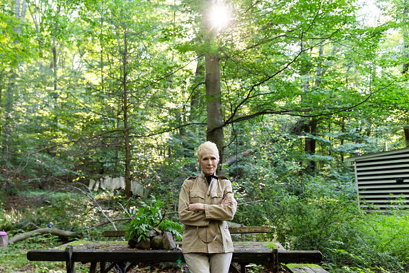 JUNE 2019: E. Jean Carroll at her home in Warwick, NY.