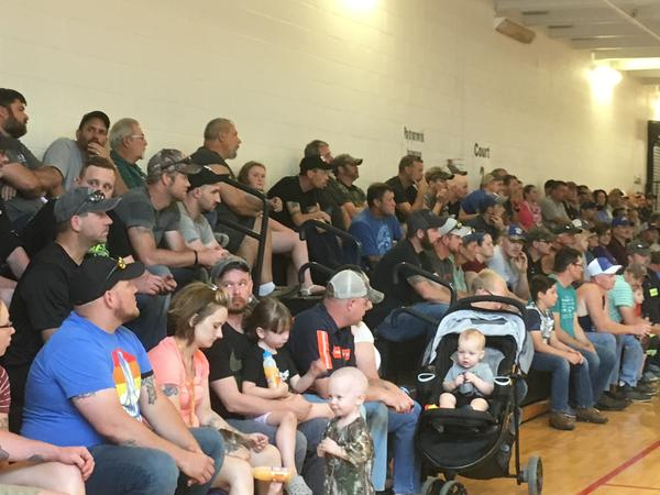Blackjewel miners and family members gathered in .Whitesburg, KY, to learn more about the bankruptcy