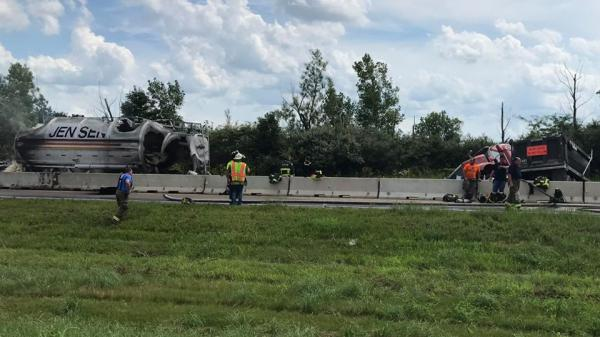 I-74 crash