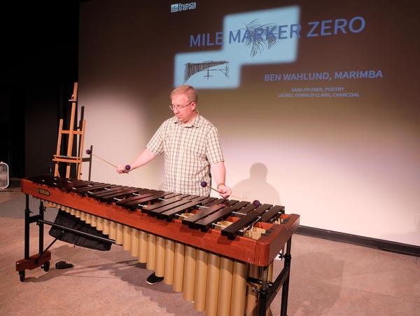 Composer and percussionist Ben Wahlund has spent a residency in Key West composing music about the island.