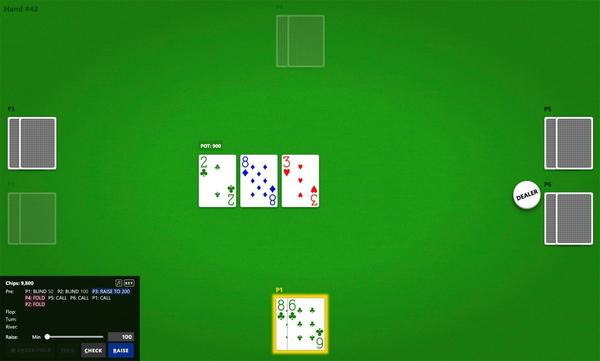 During one experiment, the poker bot Pluribus played against five professional players. It won.