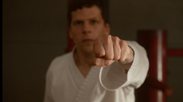 "<em>The Art of Self-Defense</em> is both scathing cultural commentary and dark comedy. The script is ""the funniest thing I've ever read,"" says star Jesse Eisenberg."