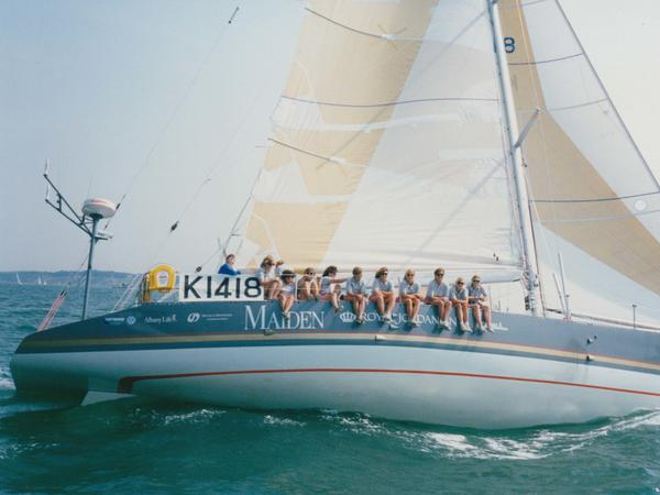 """We weren't surprised that there was resistance to an all-female crew in the race ..."" says Tracy Edwards, who assembled the first all-female crew to enter the Whitbread Round the World Race. ""But I was shocked at the level of anger there was that we wanted to do this, because why is this making you angry?"""