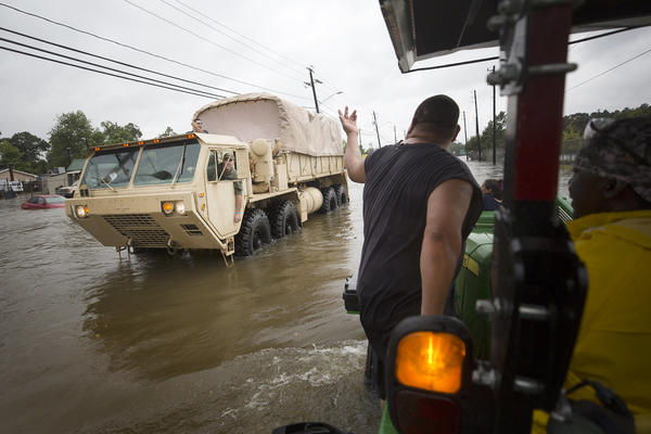 Hurricane Harvey brought record floods to the Houston area.