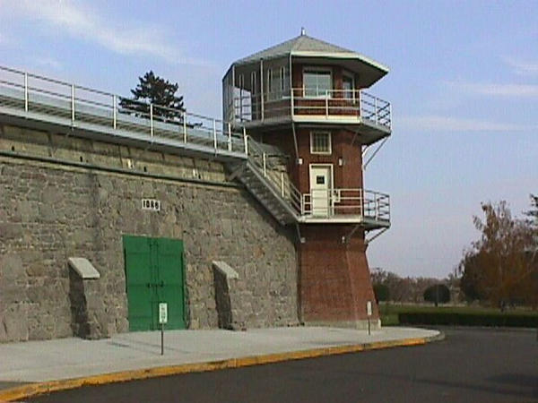 File photo of a tower at the Washington State Penitentiary in Walla Walla.