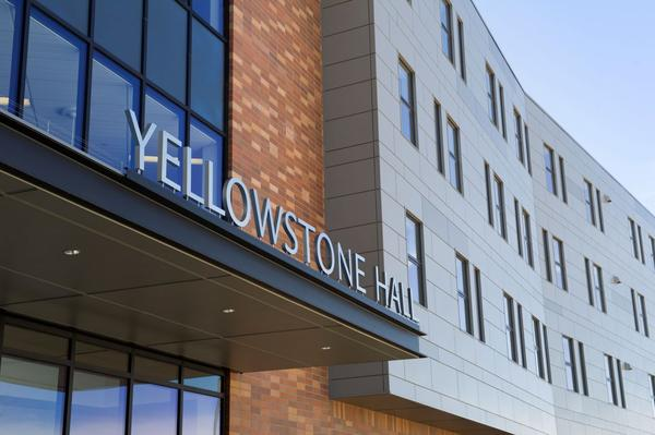 Yellowstone Hall on Montana State University's campus in Bozeman
