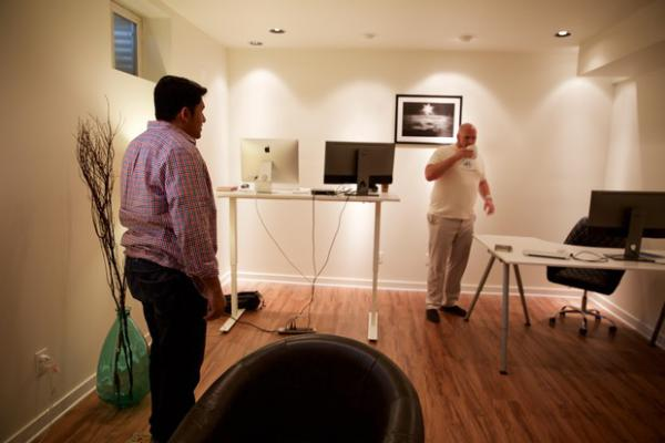 <p>Mindcurrent is being developed in a converted basement in Beaverton, Oregon.</p>