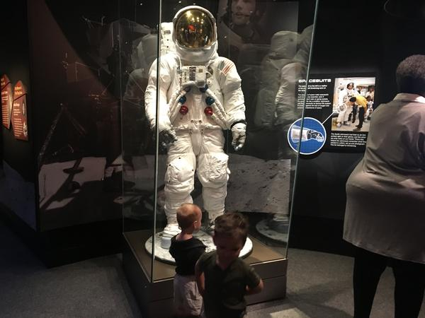 The Cincinnati Museum Center hopes kids will become inspired to study space.