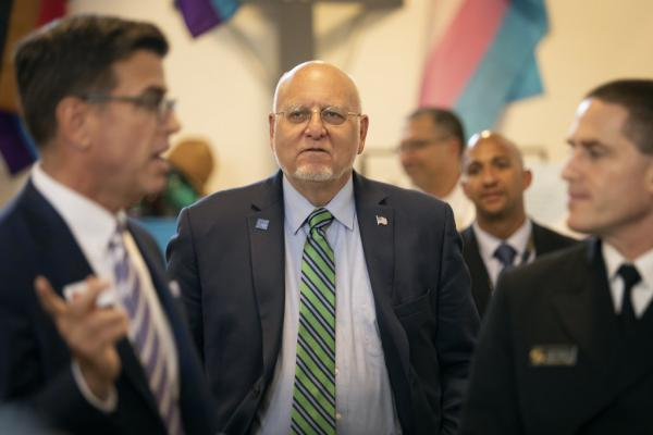 Robert Redfield, the director of the Centers for Disease Control and Prevention, meets Tuesday with public health leaders to discuss strategies to end the spread of HIV in Central Texas.