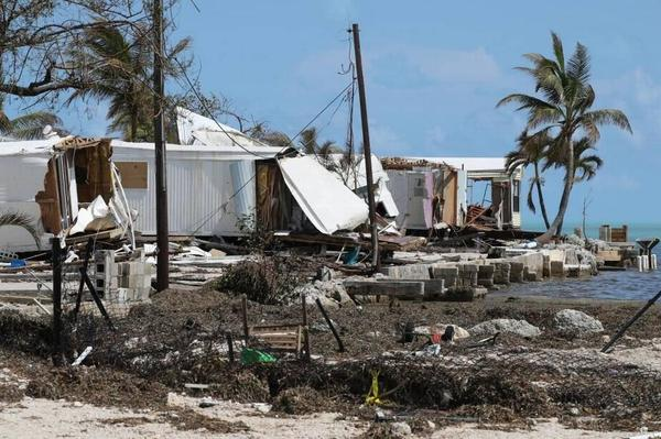 Hurricane Irma crossed the Keys as a Category 4 storm and caused widespread damage throughout the island chain.