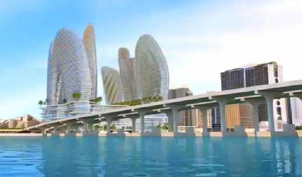 Genting has sought to build a casino resort near the MacArthur Causeway at the former site of the Miami Herald. The company now wants to build a monorail along the causeway connecting Miami and Miami Beach.