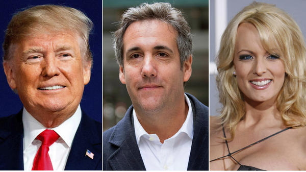 Court documents released Thursday includes details about Donald Trump directing then-lawyer Michael Cohen to help arrange payments to Stormy Daniels and another woman.