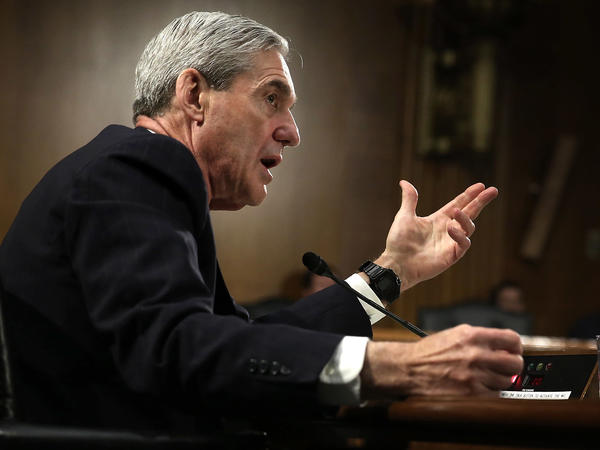 Then-FBI Director Robert Mueller testified during a Senate hearing in 2013. Lawmakers are studying old film to prepare for his hearings scheduled for next week.