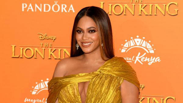 Beyoncé attends the European premiere of Disney's <em>The Lion King</em> on July 14 in London. Beyoncé's <em>The Lion King: The Gift </em>album is out now.
