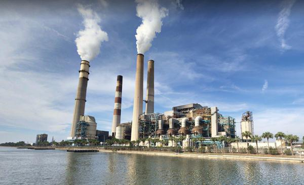 TECO's  Big Bend Power Station in Hillsborough County is asking the state Cabinet to approve changes to the facility.