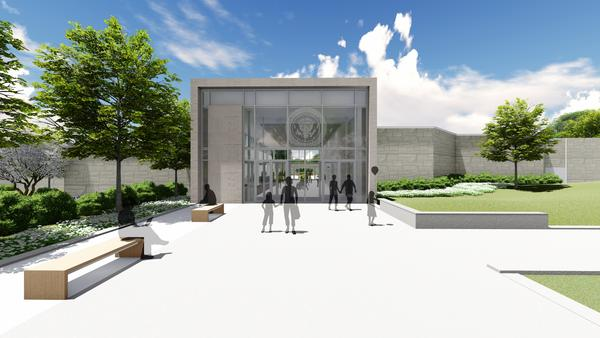 The President Harry S. Truman Library and Museum will be closed until the summer or fall of 2020 for renovations. Plans include a new entrance and lobby.