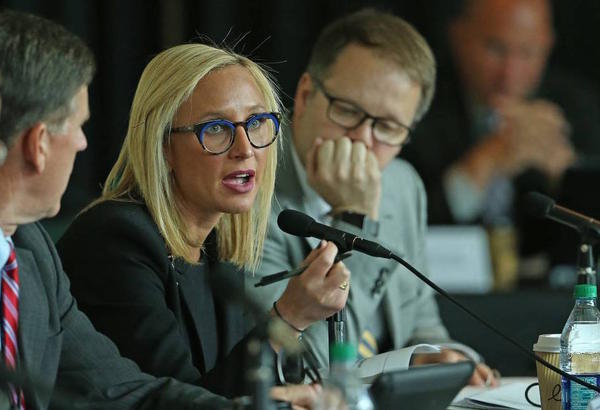Sen. Lauren Book asked Gov. Ron DeSantis to order a state investigation into the Palm Beach County Sheriff's decision to allow Jeffrey Epstein to participate in a work release program while jailed on solicitation charges more than a decade ago.