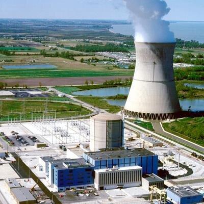 Davis-Besse Power Plant in Oak Harbor.