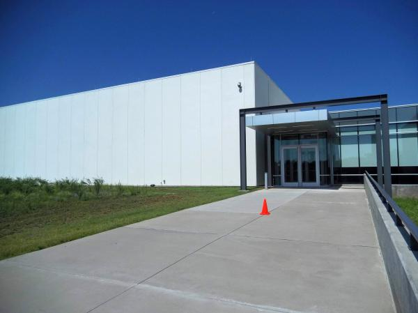 Duke's Distribution Control Center opened in February 2018 in this windowless building at University Research Park in northeast Charlotte. The building also houses a customer call center.