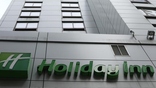 The owner of Holiday Inn and InterContinental Hotels announced Tuesday that it will switch to bulk-size bathroom amenities across the hotel group.
