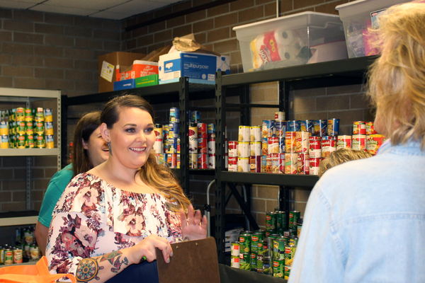 FSCJ's new H.O.P.E. food pantry provides 5 pounds of food for free to students who might otherwise go hungry. It's located on the school's south campus but serves all of FSCJ's students.