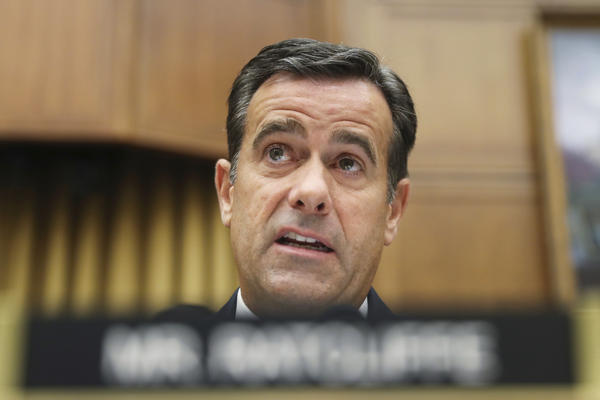 Rep. John Ratcliffe, R-Texas., questions former special counsel Robert Mueller as he testifies before the House Intelligence Committee hearing on July 24.