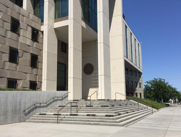 Federal court house in Billings
