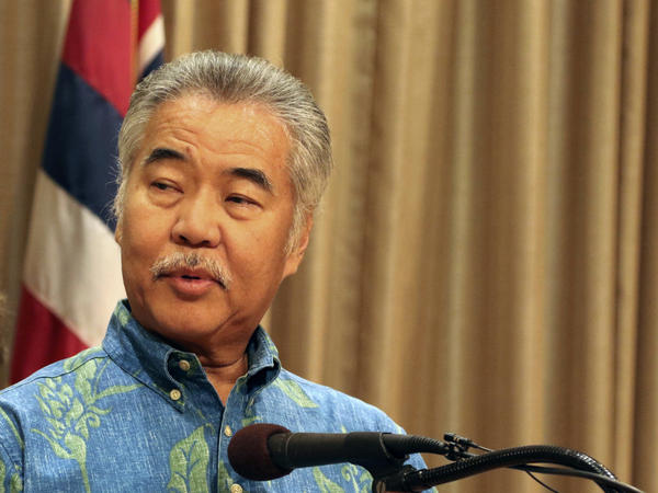 Hawaii Gov. David Ige said Tuesday he had rescinded an emergency proclamation put in place to deal with telescope protesters who are blocking the access road to the summit of Mauna Kea.