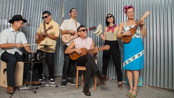 Las Cafeteras' new video shares the band's vision for the U.S.'s future.
