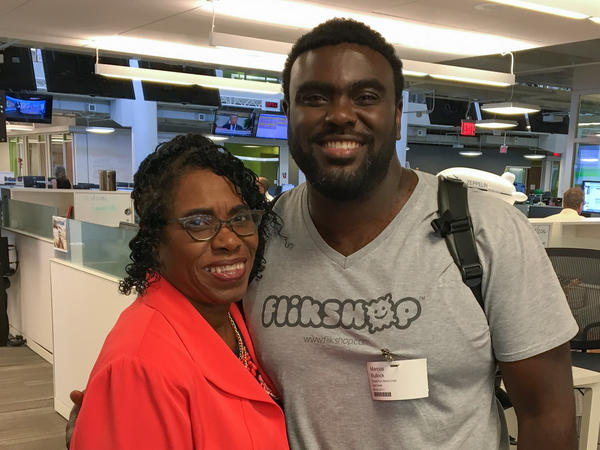 Sylvia and Marcus Bullock talked to StoryCorps about how their relationship as mother and son developed when Marcus was in prison and what it is today.