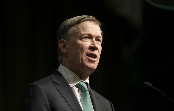 "Democratic presidential candidate and former Colorado Gov. John Hickenlooper says Democrats need to focus on ""kitchen table issues"" like jobs in order to beat President Trump in 2020."