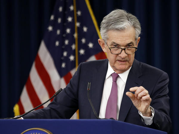 Federal Reserve Board Chairman Jerome Powell has been under pressure from President Trump to cut interest rates.