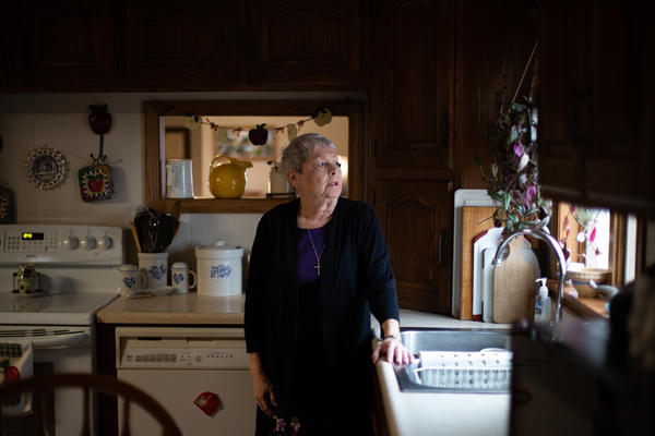 When the cancer clinic at Mercy Hospital Fort Scott closed in January, Karen Endicott-Coyan and other cancer patients had to continue their treatments out of town.