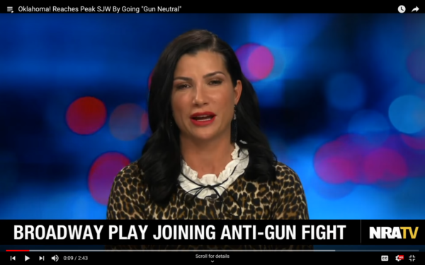 Videos produced by NRATV, like this one featuring commentator Dana Loesch, received millions of views on YouTube.