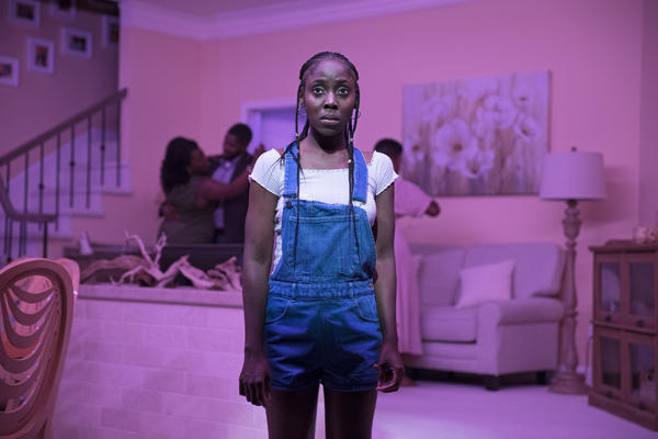 In <em>Fairview</em>, a respectable African American family prepares for a big dinner. But we slowly learn there's something off about Keisha (MaYaa Boateng) and her relatives.