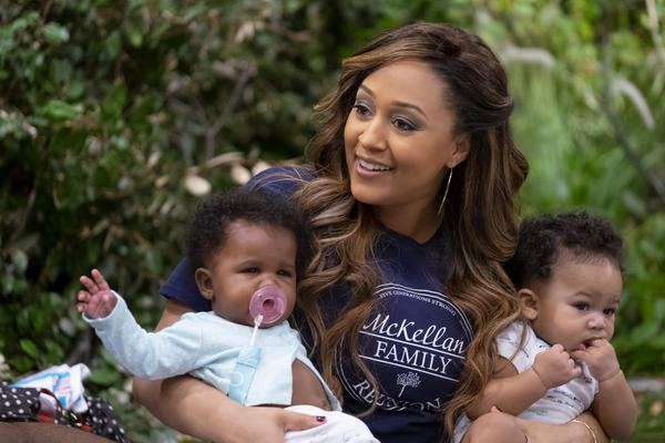 Tia Mowry-Hardrict plays a mother of four moving to Georgia to be closer to her in-laws in <em>Family Reunion.</em>