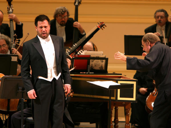 Singer David Daniels, performing at New York's Carnegie Hall in 2004.