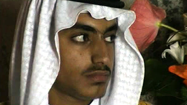Hamza bin Laden, the son of al-Qaida leader Osama bin Laden, is shown at his wedding in a video image released by the CIA in November 2017.