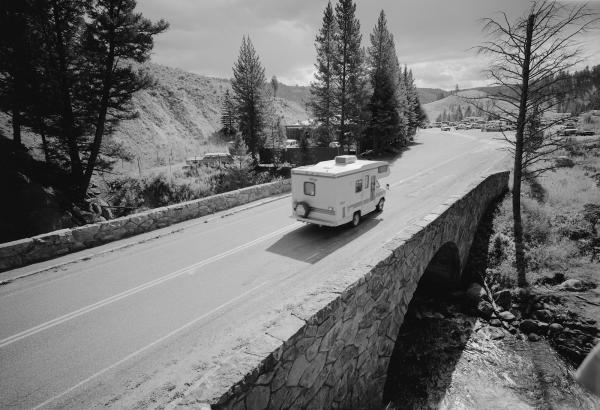 Tower Creek Bridge, Yellowstone National Park, Wyoming