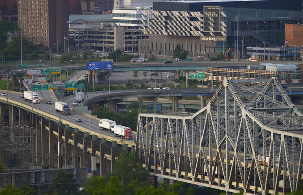The Brent Spence Bridge is considered structurally sound but functionally obsolet.